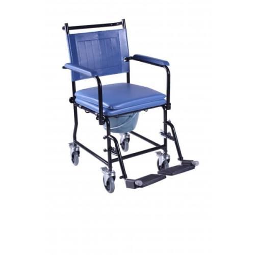 Wózek sanitarny do transferu niepełnosprawnych krzesło WC z