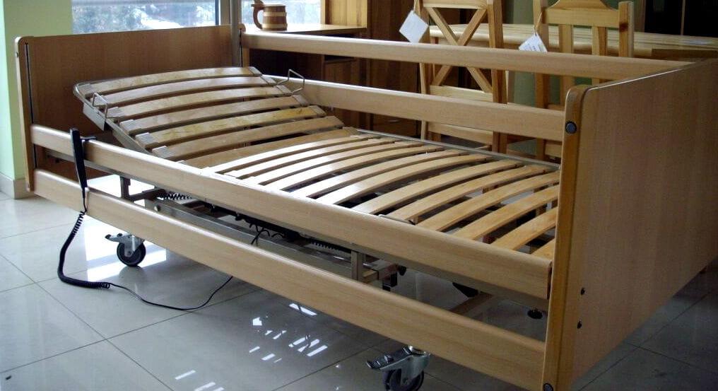 Bardzo dobry Używane łóżko elektryczne rehabilitacyjne dla seniorów www.sklep VO93