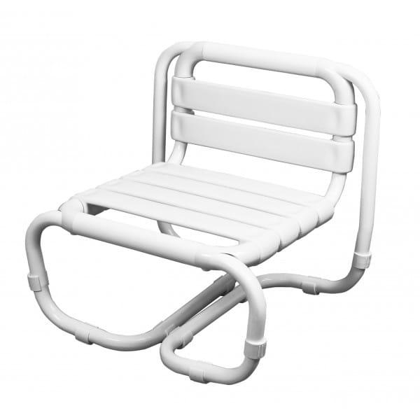 Krzesełko do wanny z oparciem taboret dla osób niepełnosprawnych
